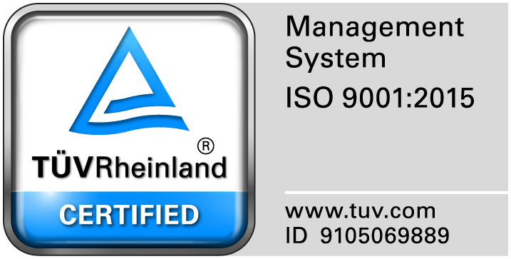 ISO 9001 2015 Quality Certification